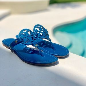 Tory Burch Sandals BLUE LEATHER